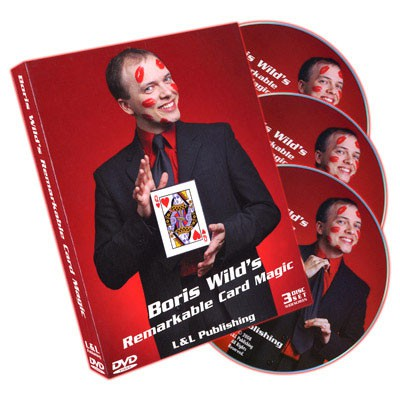 Remarkable Card Magic (3 DVD Set) by Boris Wild